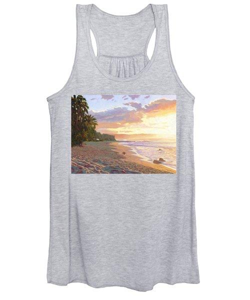 Sunset Beach - Oahu Women's Tank Top