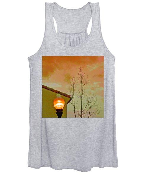 Sunset Lantern Women's Tank Top