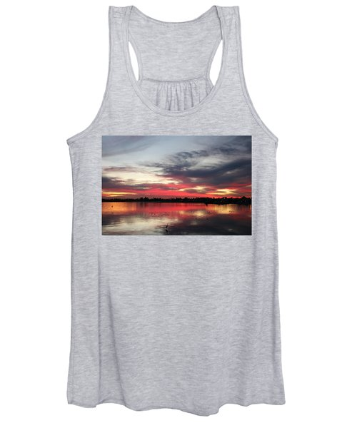 Sunset Over Mission Bay  Women's Tank Top