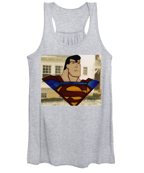 Superman Panel Women's Tank Top