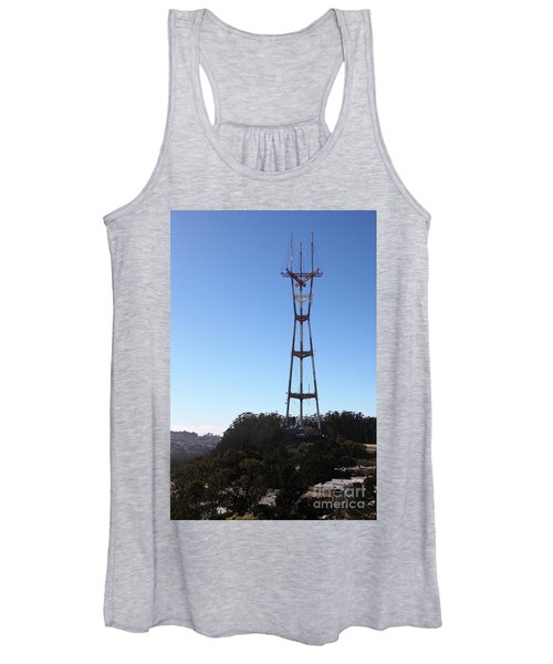 Sutro Tower San Francisco California 5d28061 Women's Tank Top