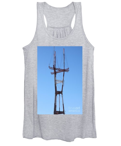 Sutro Tower San Francisco California 5d28069 Women's Tank Top
