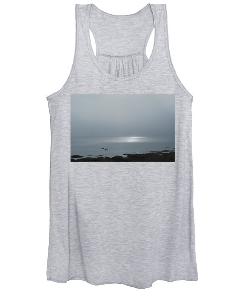 Swans At Sunrise Women's Tank Top