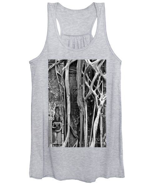 Ta Prohm Roots And Stone 09 Women's Tank Top