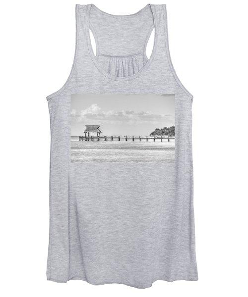 Take A Long Walk Off A Short Pier Women's Tank Top