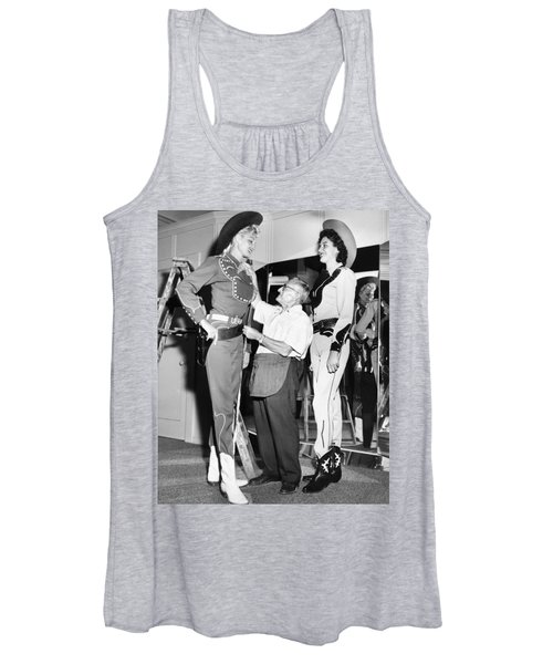Tall Cowgirls Get Fitted Women's Tank Top