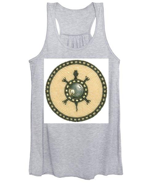 Tan Indian Turtle Women's Tank Top