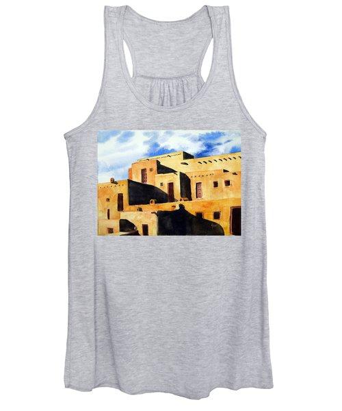 Taos Pueblo Women's Tank Top