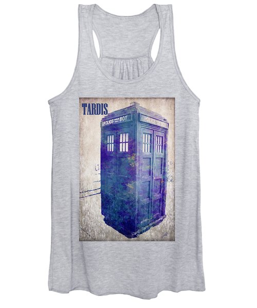 Tardis Women's Tank Top