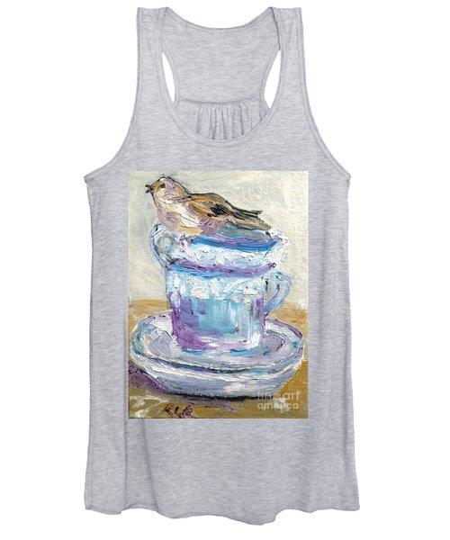 Tea Time  Women's Tank Top
