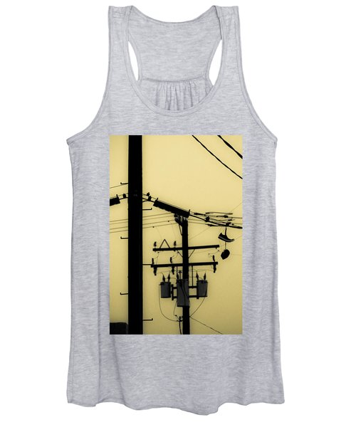 Telephone Pole And Sneakers 5 Women's Tank Top