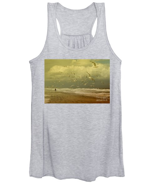 Terns In The Clouds Women's Tank Top