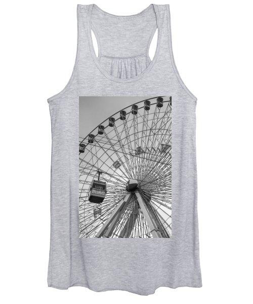 Texas Star Ferris Wheel Women's Tank Top