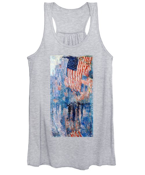 The Avenue In The Rain Women's Tank Top