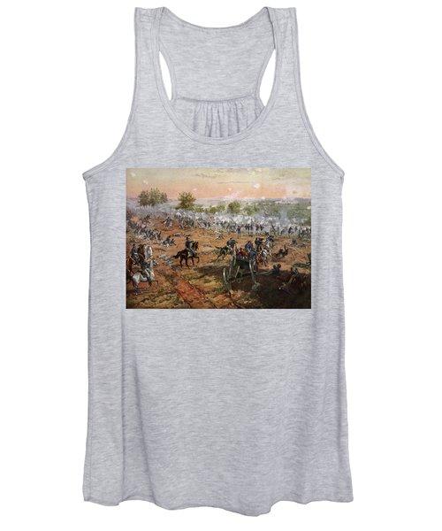 The Battle Of Gettysburg, July 1st-3rd Women's Tank Top