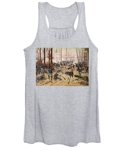 The Battle Of Shiloh April 6th-7th 1862 Women's Tank Top