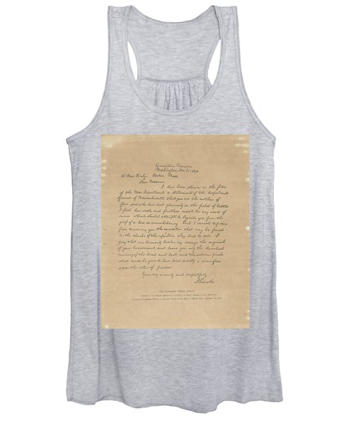 The Bixby Letter Women's Tank Top