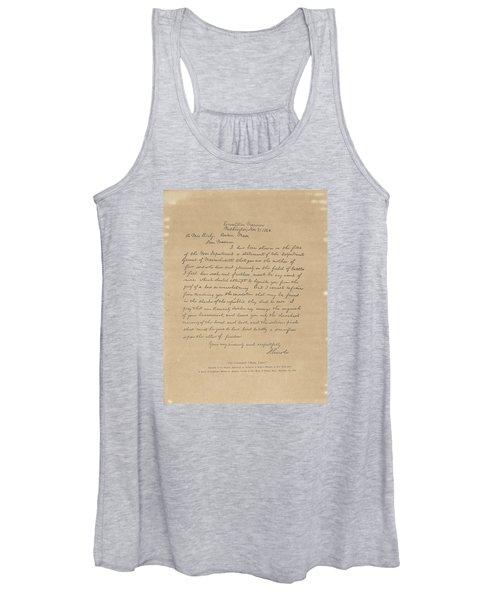 The Bixby Letter Women's Tank Top