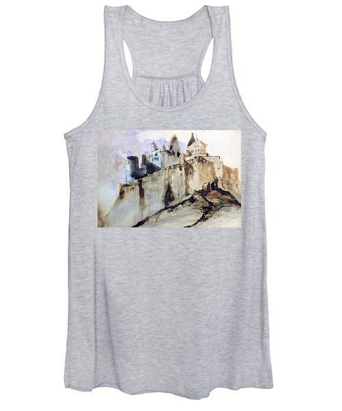 The Chateau Of Vianden Women's Tank Top