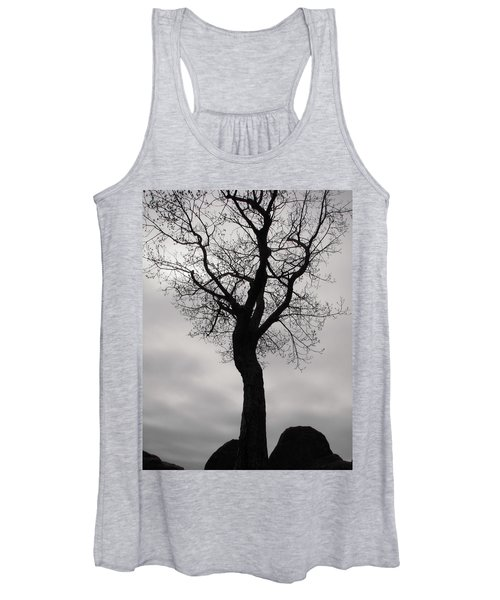 The Chill Of Spring In The Shenandoah Women's Tank Top