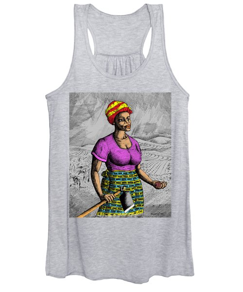 The Farmer Women's Tank Top