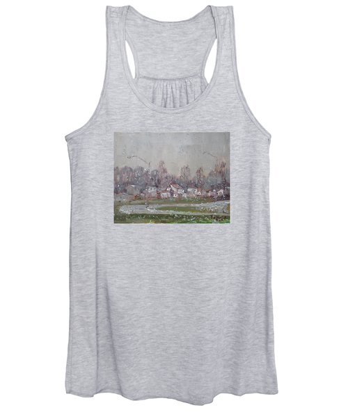The First Snowflakes Of The Season  Women's Tank Top