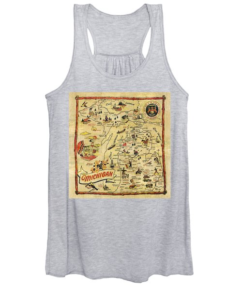 The Great Lakes State Women's Tank Top