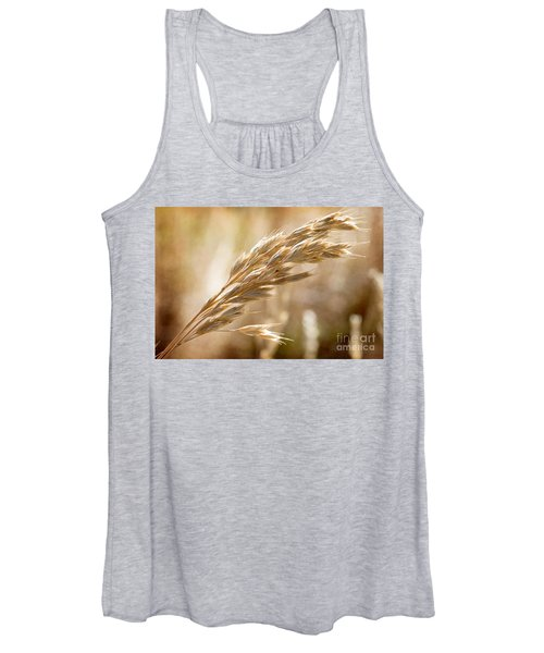 The Hot Gold Hush Of Noon Women's Tank Top