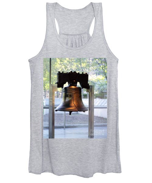 The Liberty Bell, Philadelphia Women's Tank Top
