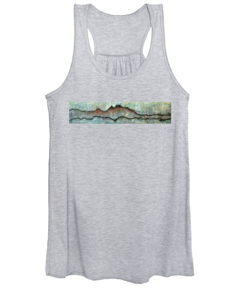 The Only Way Out Is Through Women's Tank Top