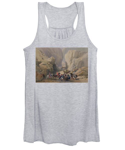 The Opening Into The Narrow Pass Above Women's Tank Top