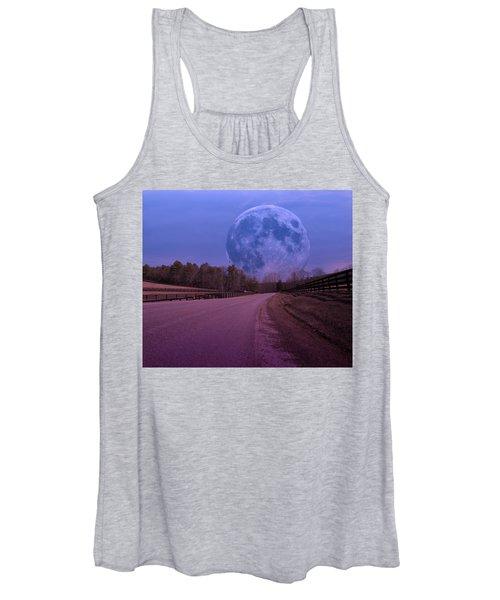 The Peace Moon  Women's Tank Top