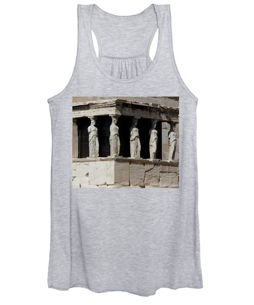 The Porch Of Maidens Women's Tank Top
