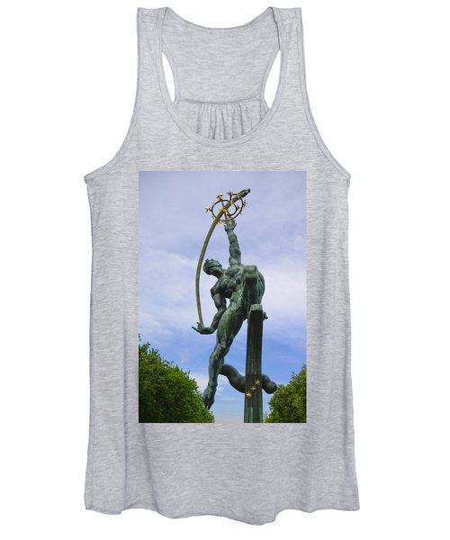 The Rocket Thrower Women's Tank Top