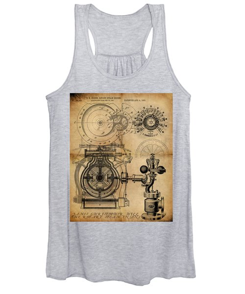 The Rotary Engine Women's Tank Top