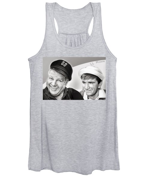 The Skipper And Gilligan Women's Tank Top