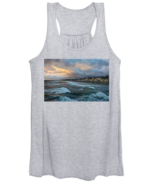 The Storm Clouds Roll In Women's Tank Top