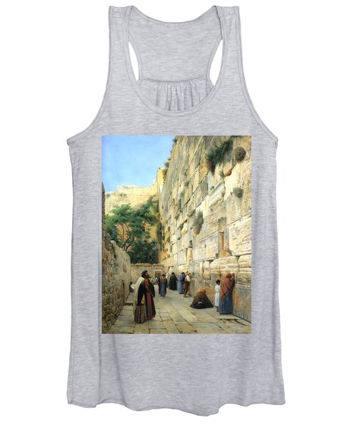The Wailing Wall Jerusalem Women's Tank Top