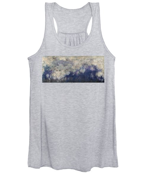 The Waterlilies - The Clouds Central Section 1915-26 Oil On Canvas See Also 64184 & 64186 Women's Tank Top