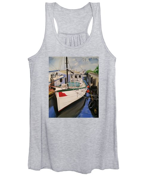 The Wooden Work Boats Women's Tank Top