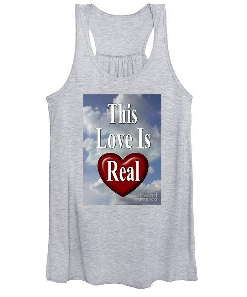 This Love Is Real Women's Tank Top