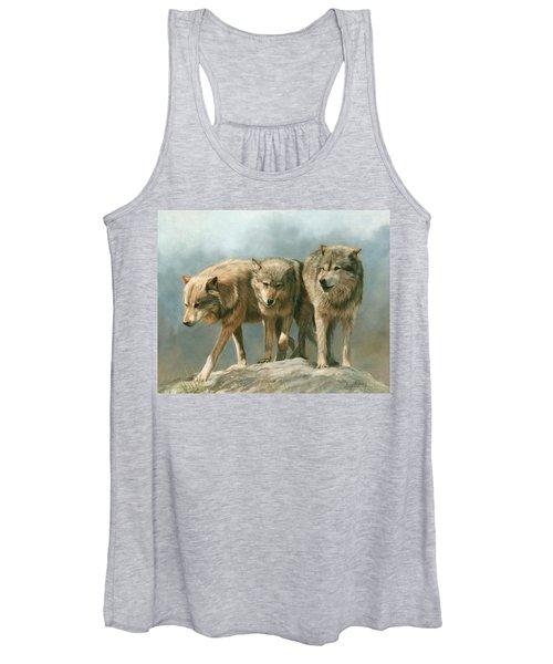 Three Wolves Women's Tank Top