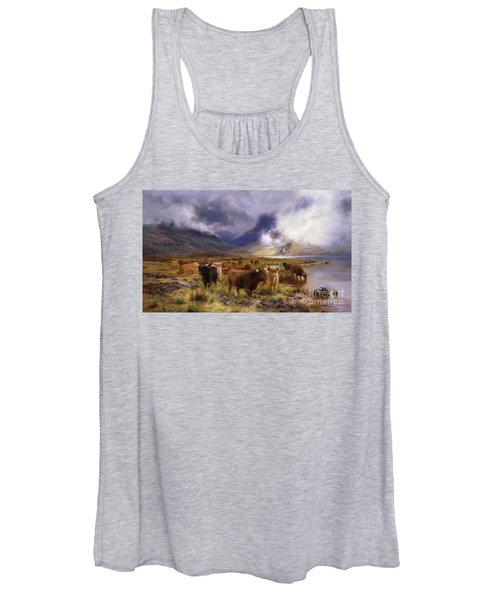 Through Glencoe By  Way To The Tay Women's Tank Top