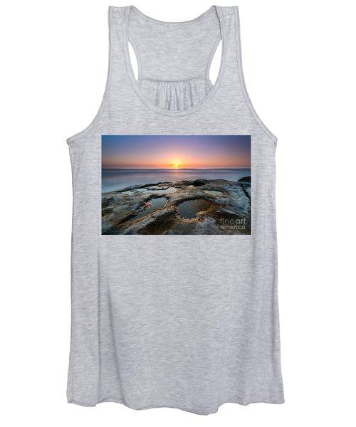 Tide Pool Sunset Women's Tank Top