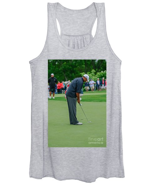 D12w-457 Tiger Woods Women's Tank Top