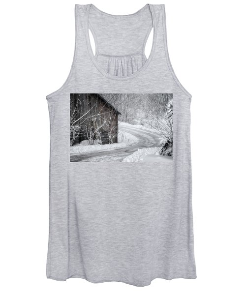 Touched By Snow Women's Tank Top