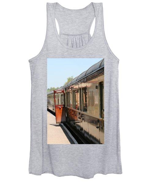 Train Transport Women's Tank Top