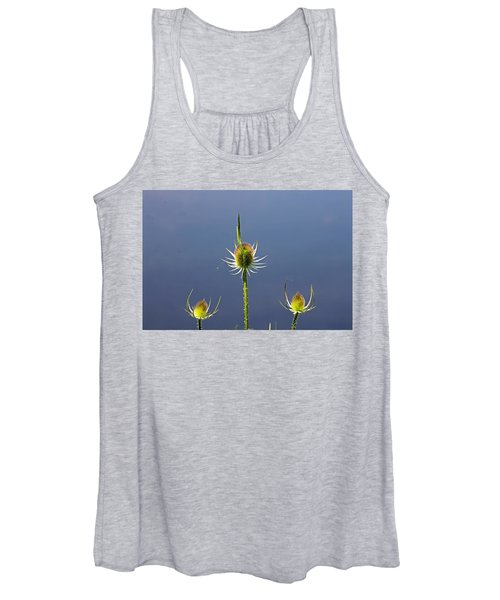 Trio Of Teasels Women's Tank Top