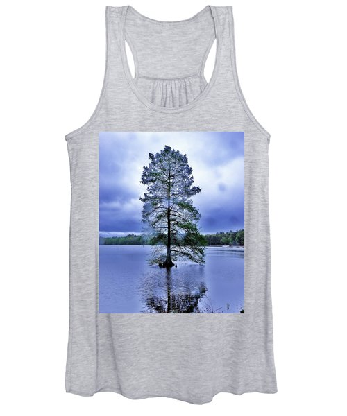 The Healing Tree - Trap Pond State Park Delaware Women's Tank Top