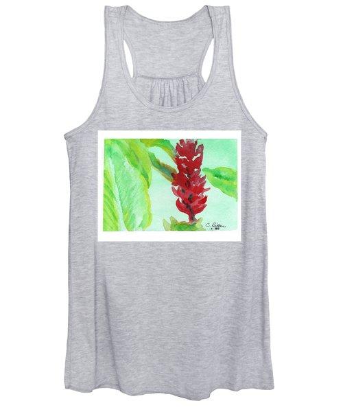 Tropical Flowers 2 Women's Tank Top